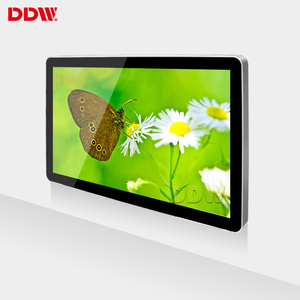 Competitive price hot android wall mount touch screen hd lcd monitor usb video media player for advertising