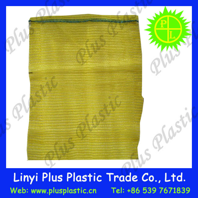 china cheap pp leno mesh bag for packing fruit and vegetable 50kg 100kg