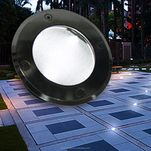High Quality Small Led Underground Solar Light For Garden Ip68