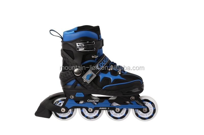 Top quality cougar inline skate with OEM service for roller skates soy luna