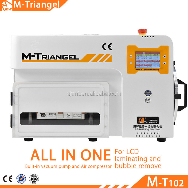 New Design Updated M-Triangel Brand LCD Vacuum Laminator for All Broken Mobile Phone Fast Repair