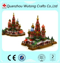 Vasile Assumption Cathedral Miniature Building Russian Souvenir