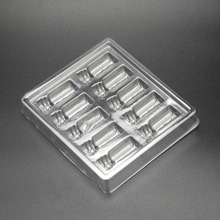 Recycle plastic trays vial insert bottle opener insert for 10 units 2ml