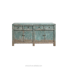 Chinese antique reproduction furniture wholesale Chinese wood long sideboard asian furniture