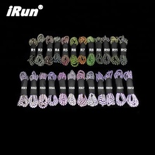 iRun Reflective Shoe Laces Elastic Shoelaces For Sneakers Round Shoelace