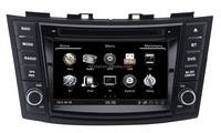 2 din touch screen car multimedia TV GPS player audio car DVD player , car multimedia player for suzuki swift&