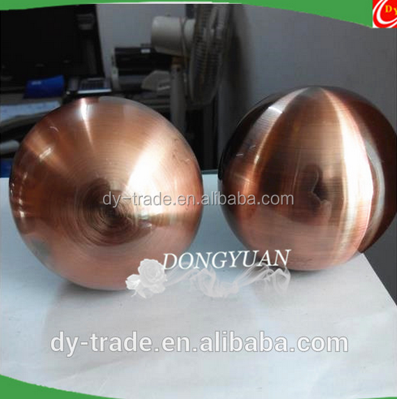 hollow copper sphere for wedding decoration lampshade decoration