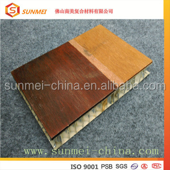 IMO Laminated aluminum honeycomb 10mm panel for house boat