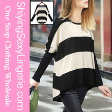 New Fashion Fashion Womens Batwing Pullover ladies new design Knitwear