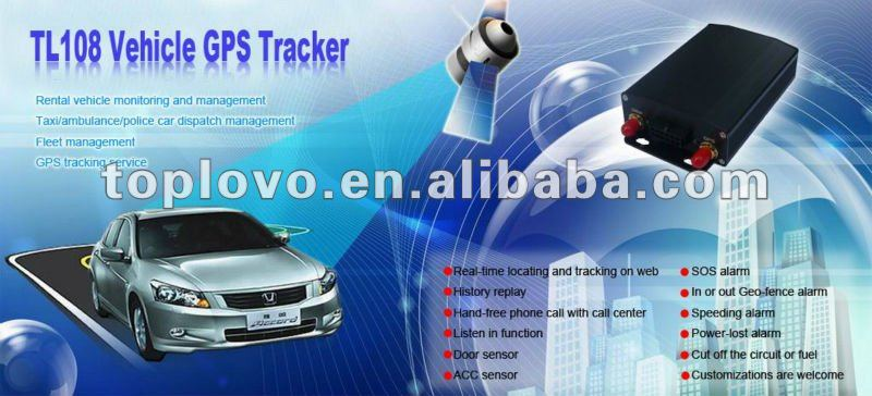 TL108 gps sms tracking system