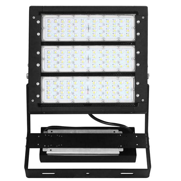 IP65 Outdoor Finned 300w Aluminum Led Flood Light Components For Tunnel