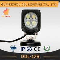 super bright wholesale 12w led work light led boat lighting E-mark,ROHS, IP68 waterproof car led tuning light
