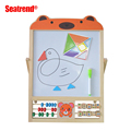 Solid Wood Made Magnetic White Board For Children Toys