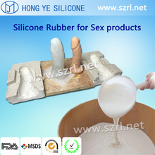Body Safe Silicone rubber for making men penis/ artificial prosthesis