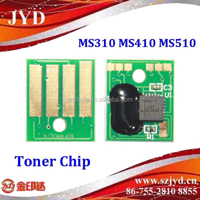 Factory price toner chip for Lex MS310 MS410 MS510 MS610 5K 100% tested printer chip