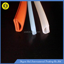 Colorful Silicon rubber L/T/U shape protective sealing strip