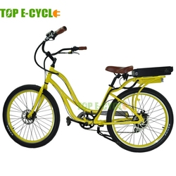 TOP E-cycle new style 48v powerful girl electric bike from hangzhou