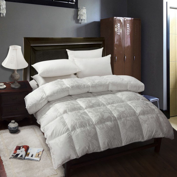 factory made luxury white comfortable soft home hotel goose duck down quilt duvet