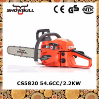 SHOWBULL Big power cutting quickly 2-stroke durable chainsaw 58cc with easy starter