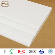 Corner Gesso Painting Skirting board Decorate Wood Moulding Line Frame
