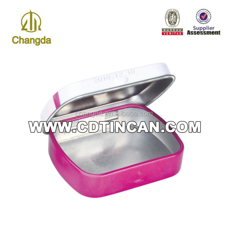 hot sale tin condom tin box