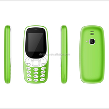 "OEM Feature Phone 1.77"" inch 3310 GSM Cheap Bar Mobile Phone G25"