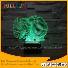 FS-2881 Animal Shape Projector NightLight 3D Illusion Lamp Colour Light