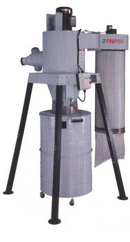 3 HP Two Stage Dust Cyclone machine