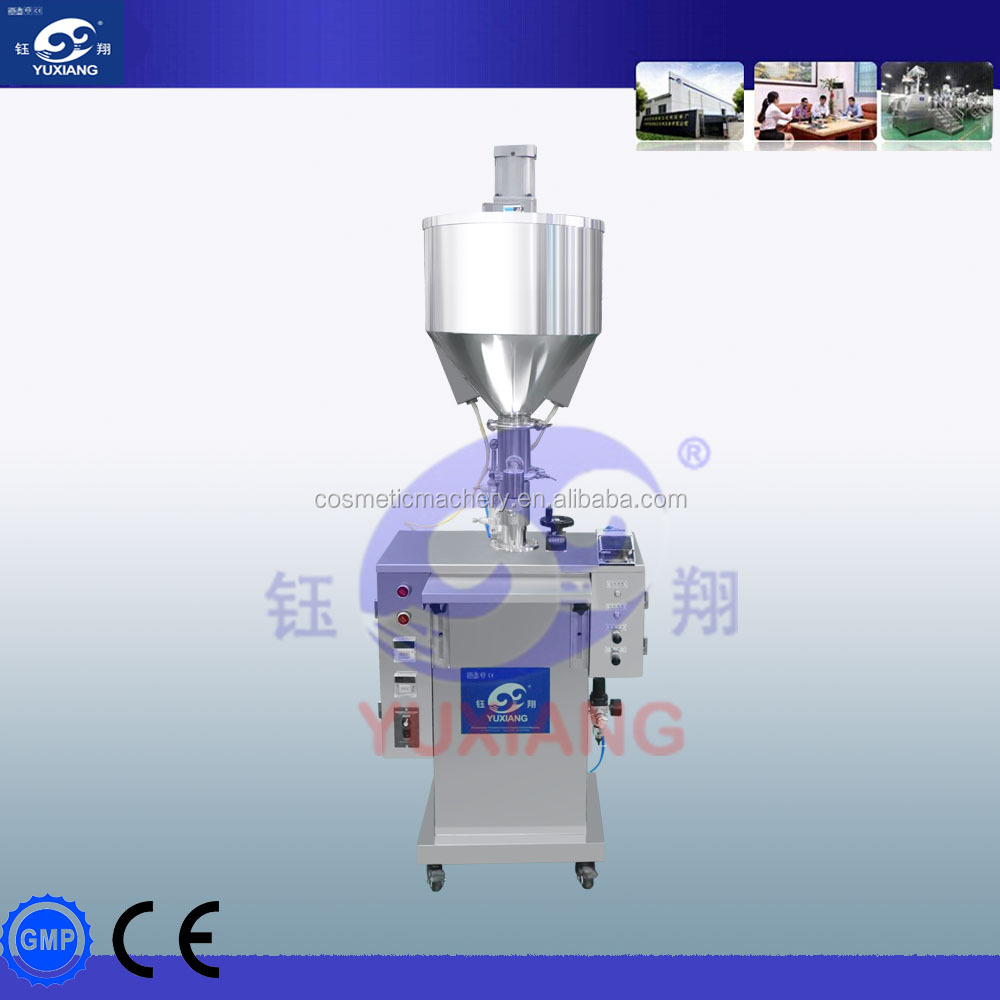 GZJ-I Pneumatic Liquid & Cream Heat-preservation Filling <strong>Machine</strong> Filling volume: 5ml-250ml