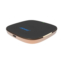Square Zinc Alloy 10w 15w Fast Mobile Fastest Qi Certified Wireless Charger Phone