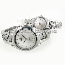 Good quality 316l stainless steel bracelet buckle watch elements japan movt quartz watches brands