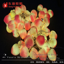 Best quality cheap price Christmas invisible LED fake fruits string light