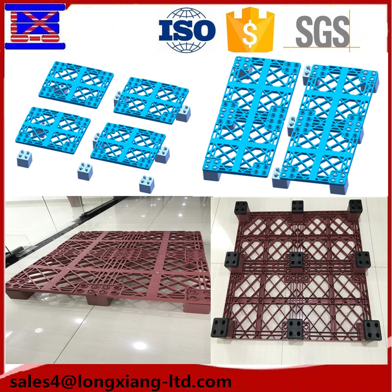 1300*1100*150 pallet can be turnover and open the bottom deck