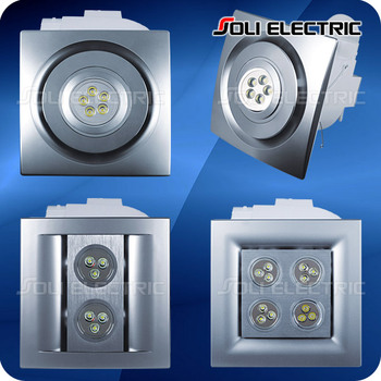 Kitchen Bathroom Ceiling Exhaust Fan With Led Light Buy Ceiling Exhaust Fan Exhaust Fan