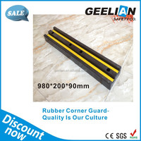 rubber reflective corner guard protection for wallpaper