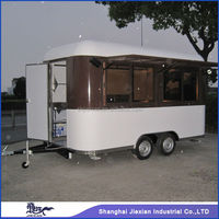 Solid Customized JX-FS400R camping trailer