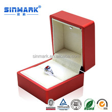SINMARK antique style ring box championship ring box acrylic ring box
