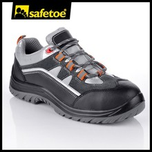 Comfortable and breathable sporty safety shoes L-7206