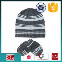 Best Prices Latest OEM Design arcylic beanie hat with custom logo from China workshop