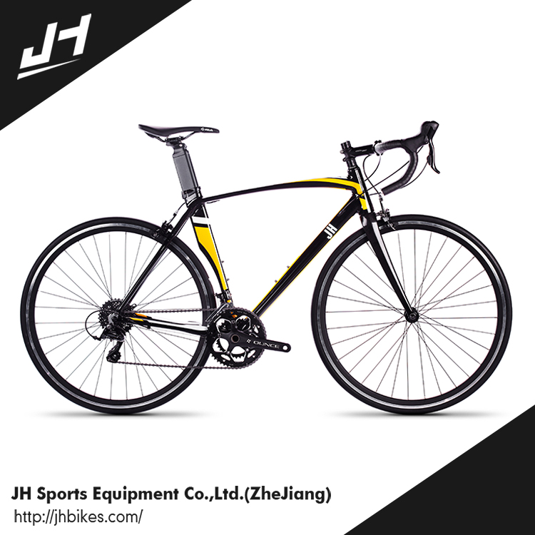 Wholesale Low Price High Quality 18 Speed Road Bike Customized Color Bicycle