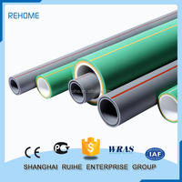 Glass Fiber Reinforced Ppr Pipe In