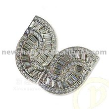 Jewel butterfly belt buckle