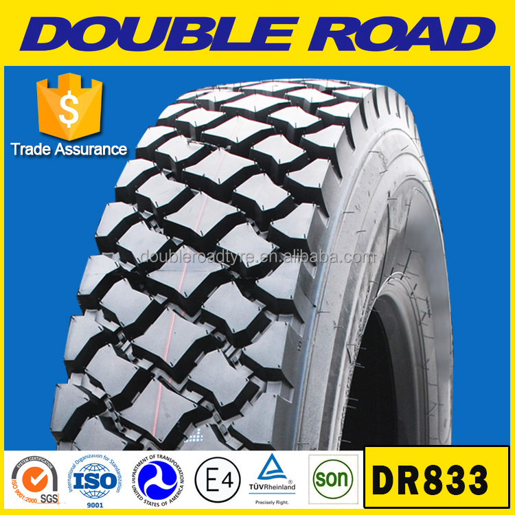 Wholesale Doubleroad Longmarch Truck Used Tires 11R22.5 11R24.5 Lm211 Tubeless Truck Tyres Good Prices