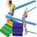Latex Resistance Rubber Power Ballet Stretch Workout Exercise Band Set