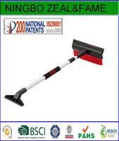 2 in 1 extendable snow brush auto snow broom auto ice scraper