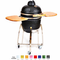 Japanese Ceramic Round Grill For Yakiniku