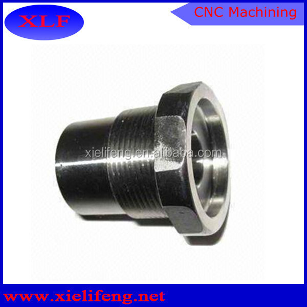 Factory custom cnc lathe machining part of hardware ring with step