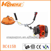 two-stroke the new appearance gasoline metal blade grass trimmer 415B with CE,GS,EMC approval