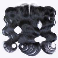 Tuneful Brazilian Human Hair Free Part Body Wave Lace Frontal Pieces