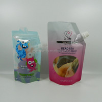 3 side sealed arrack bag with spout